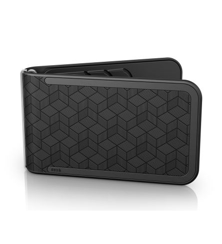 Dosh Luxe Embossed Cubic Black