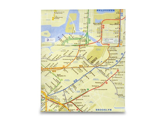 Mighty Tablet Case NYC Subway Map